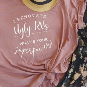 I Renovate Ugly Rvs, What's Your Superpower? All Things with Purpose Sarah Lemp 11