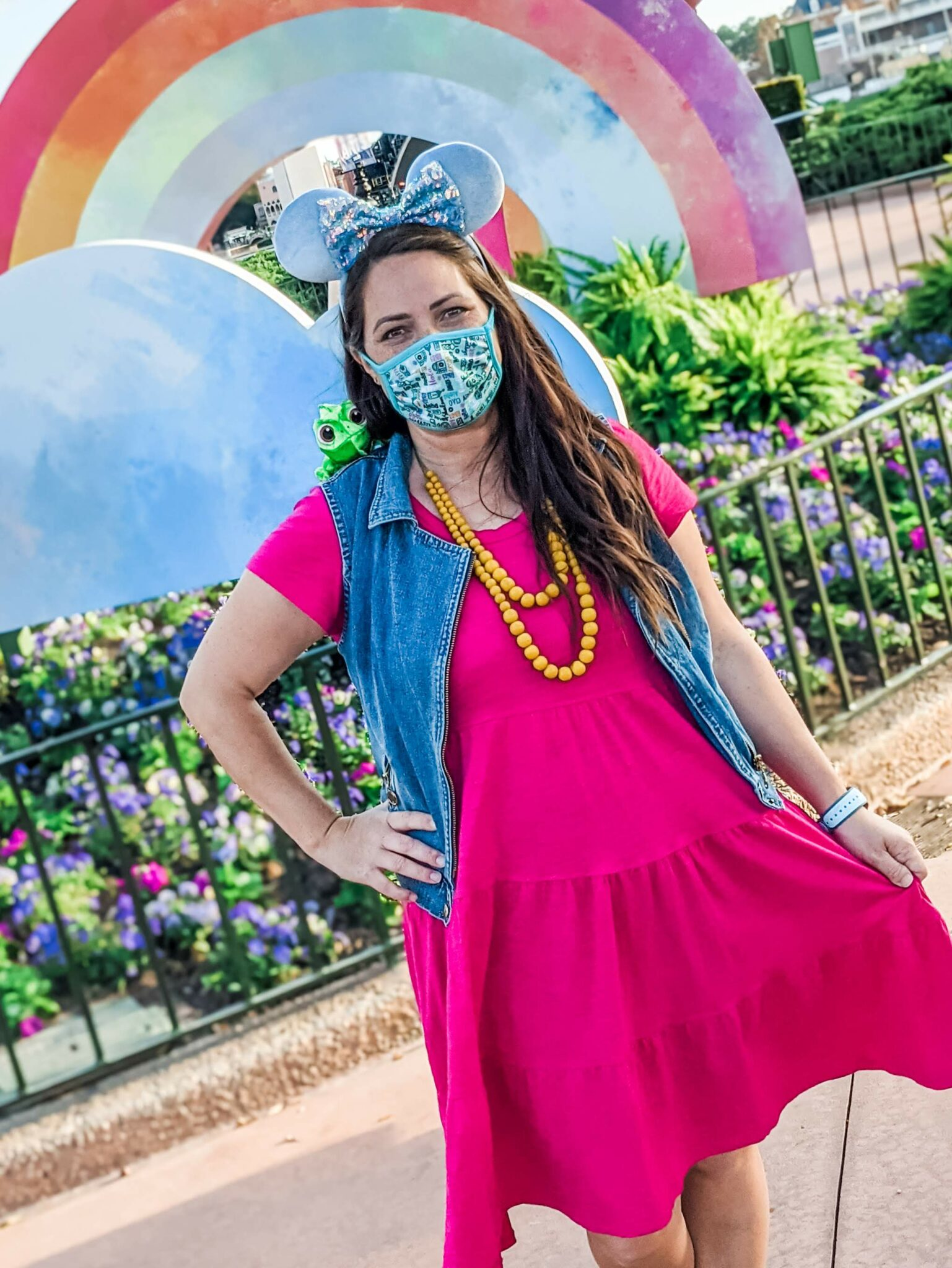 Tips for Taking Great Pictures at Disney World While Wearing a Mask All Things with Purpose Sarah Lemp 16