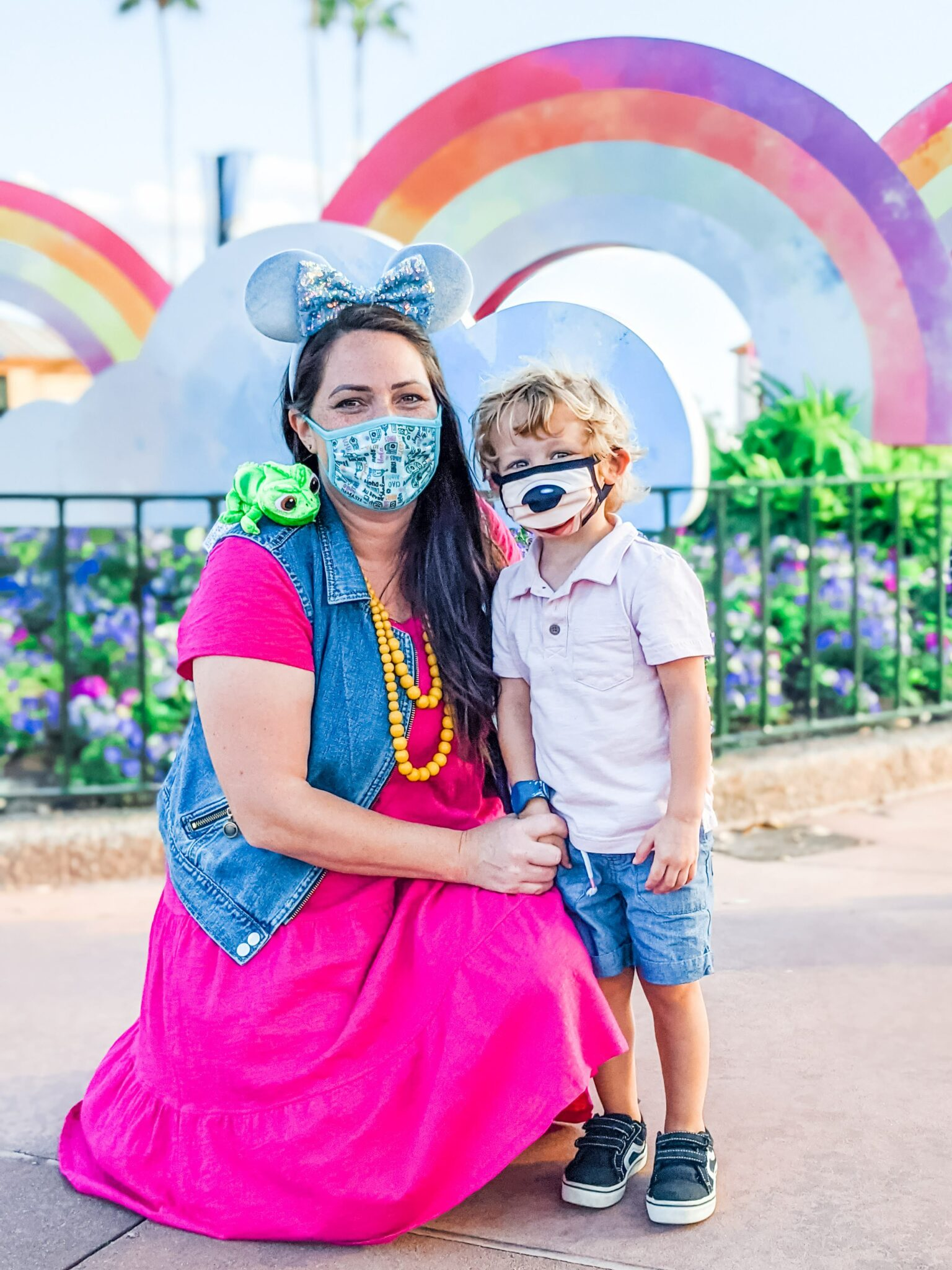 Tips for Taking Great Pictures at Disney World While Wearing a Mask All Things with Purpose Sarah Lemp 17