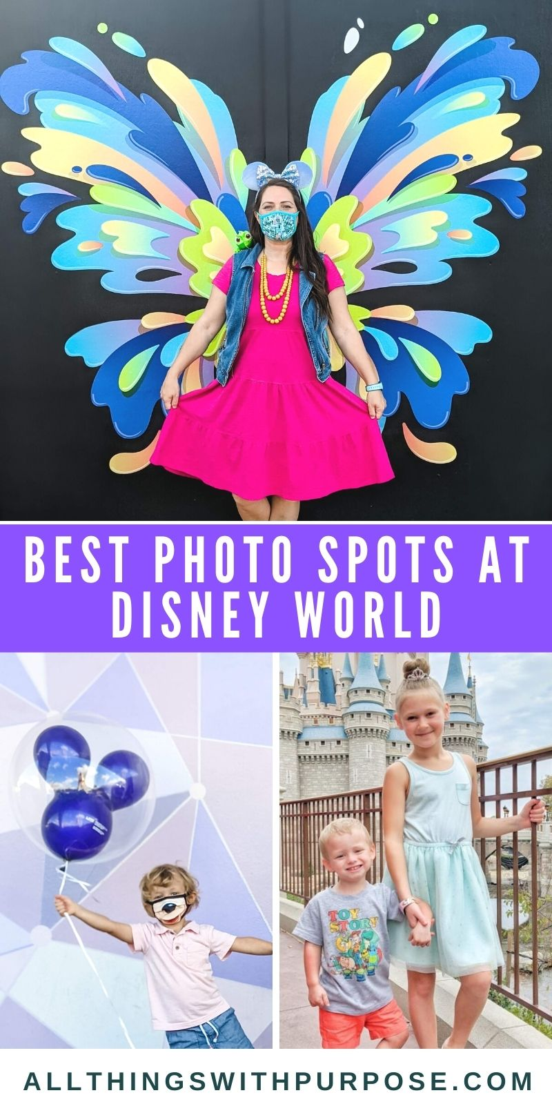Best Spots for Photos at Walt Disney World All Things with Purpose Sarah Lemp 1
