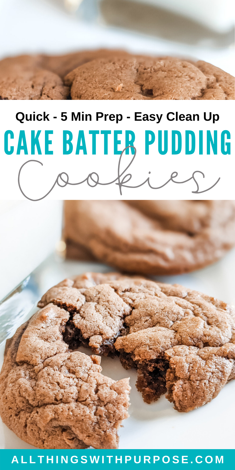 Cake Batter Pudding Cookies All Things with Purpose Sarah Lemp 5