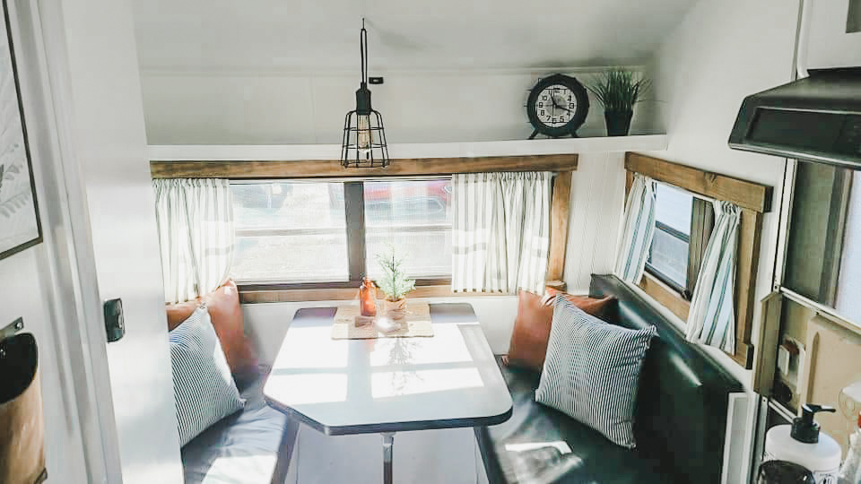 This Tiny Vintage Trailer was Transformed Into an Adorable Home on Wheels All Things with Purpose Sarah Lemp 22