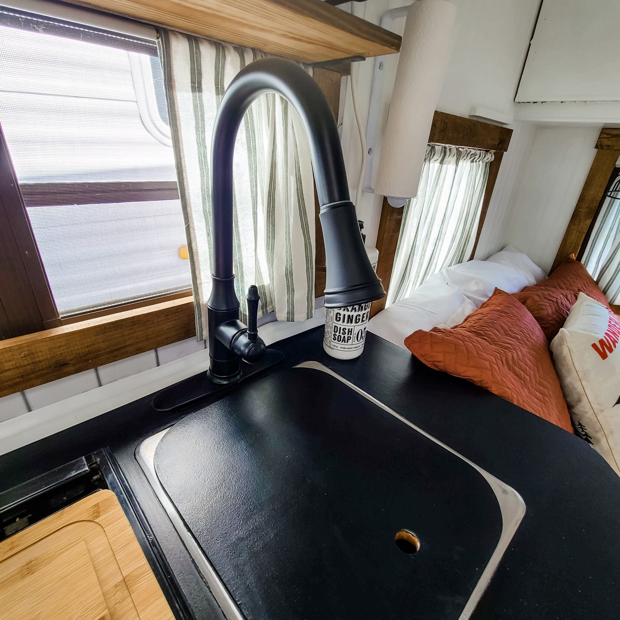 This Tiny Vintage Trailer was Transformed Into an Adorable Home on Wheels All Things with Purpose Sarah Lemp 27