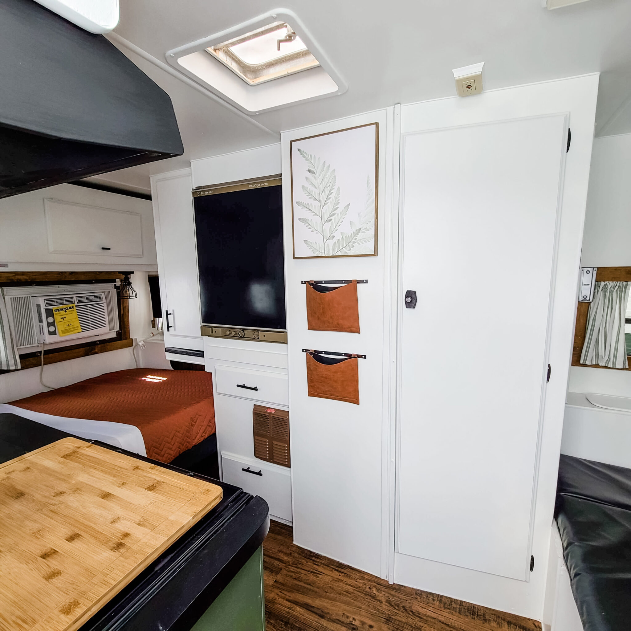 This Tiny Vintage Trailer was Transformed Into an Adorable Home on Wheels All Things with Purpose Sarah Lemp 28