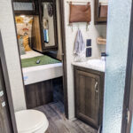 Remodeled 2019 Keystone Bullet 330BHS Travel Trailer for Sale All Things with Purpose Sarah Lemp 15