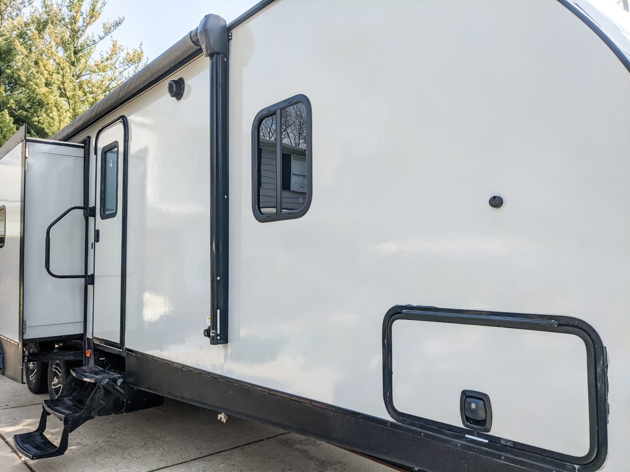 Remodeled 2019 Keystone Bullet 330BHS Travel Trailer for Sale All Things with Purpose Sarah Lemp 9