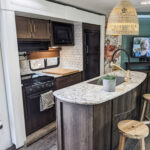Remodeled 2019 Keystone Bullet 330BHS Travel Trailer for Sale All Things with Purpose Sarah Lemp 7