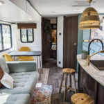 Remodeled 2019 Keystone Bullet 330BHS Travel Trailer for Sale All Things with Purpose Sarah Lemp 6