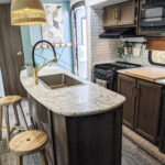 Remodeled 2019 Keystone Bullet 330BHS Travel Trailer for Sale All Things with Purpose Sarah Lemp 4