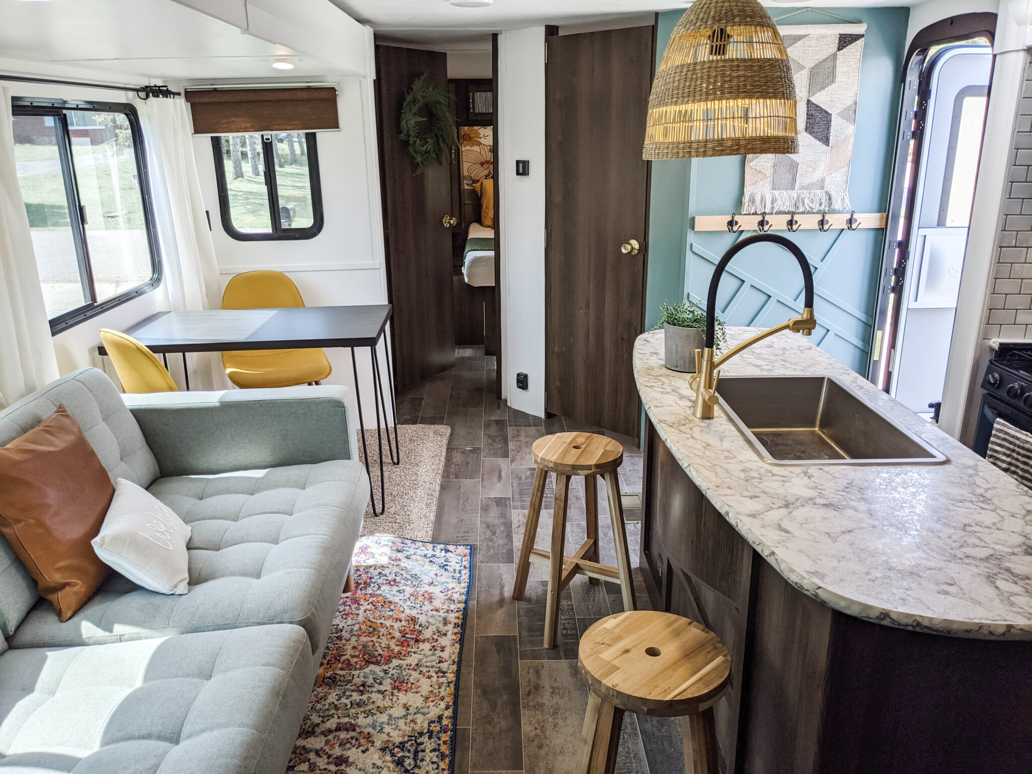 Remodeled 2019 Keystone Bullet 330BHS Travel Trailer for Sale All Things with Purpose Sarah Lemp 3