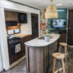 Remodeled 2019 Keystone Bullet 330BHS Travel Trailer for Sale All Things with Purpose Sarah Lemp 1