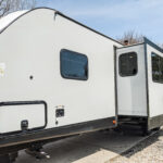 Remodeled 2019 Keystone Bullet 330BHS Travel Trailer for Sale All Things with Purpose Sarah Lemp