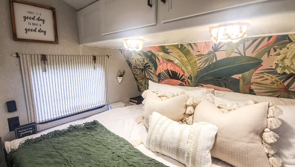 Forest River Wolf Pup Travel Trailer Remodel All Things with Purpose Sarah Lemp 2