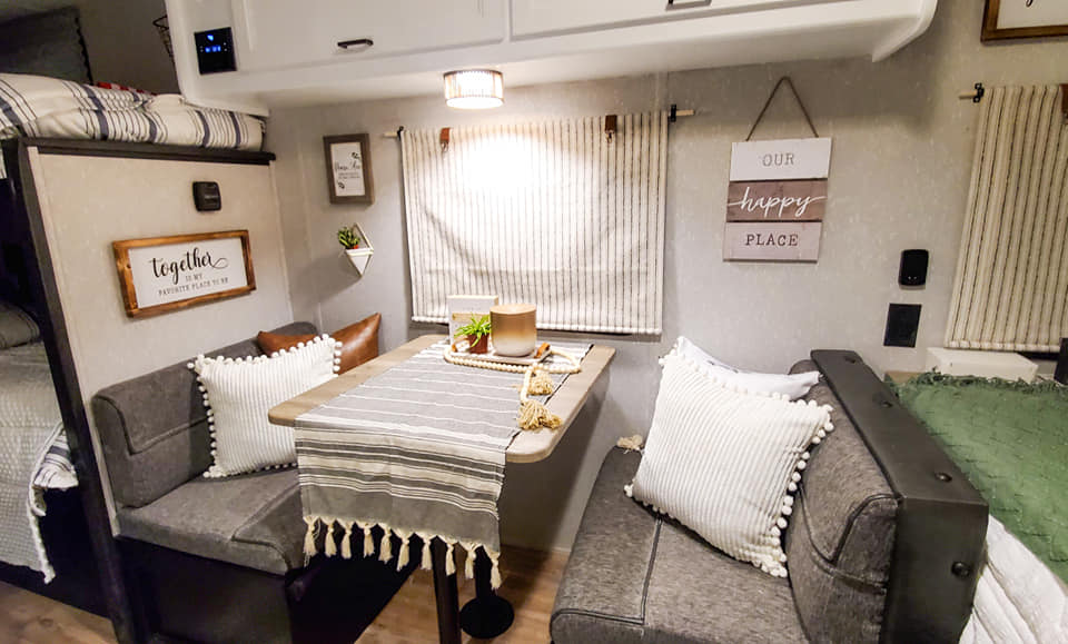 Forest River Wolf Pup Travel Trailer Remodel All Things with Purpose Sarah Lemp 12