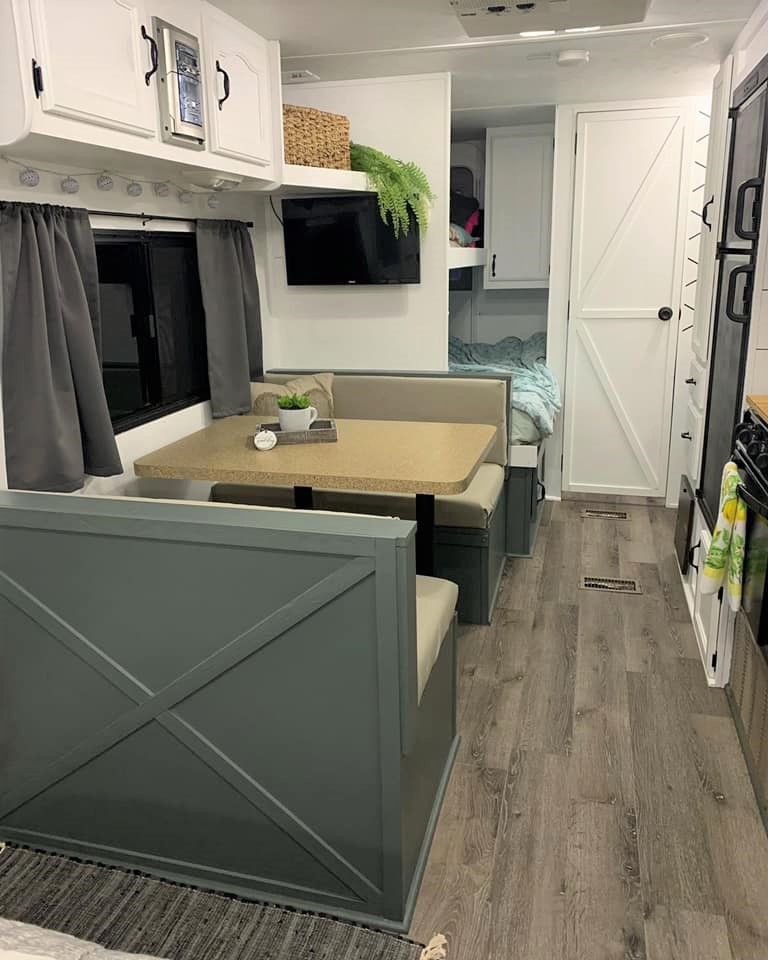 You Have to See This $800 Cherokee Lite Travel Trailer Transformation All Things with Purpose Sarah Lemp 9