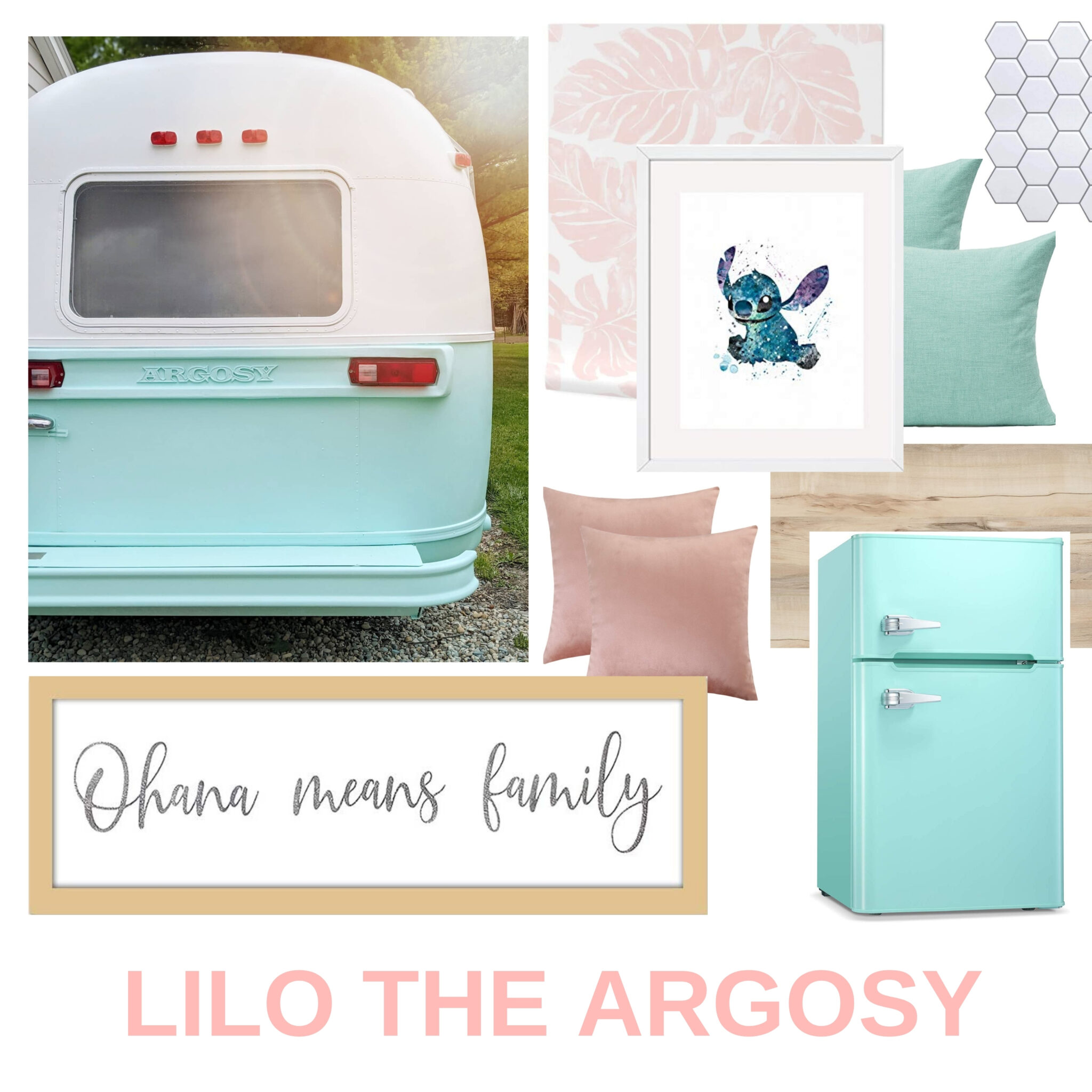 Our 1974 Airstream Argosy Travel Trailer Renovation Project All Things with Purpose Sarah Lemp