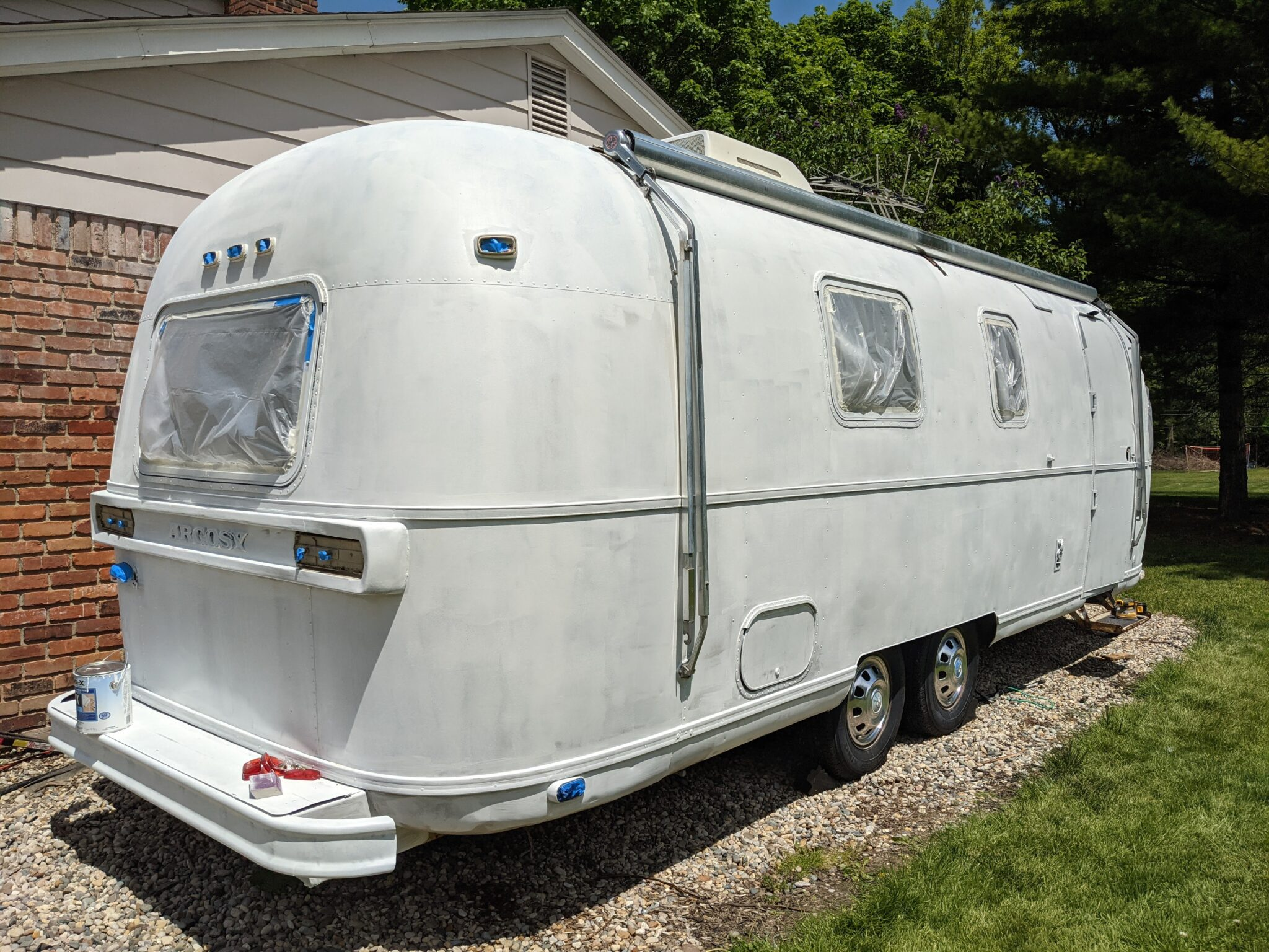 Our 1974 Airstream Argosy Travel Trailer Renovation Project All Things with Purpose Sarah Lemp 15