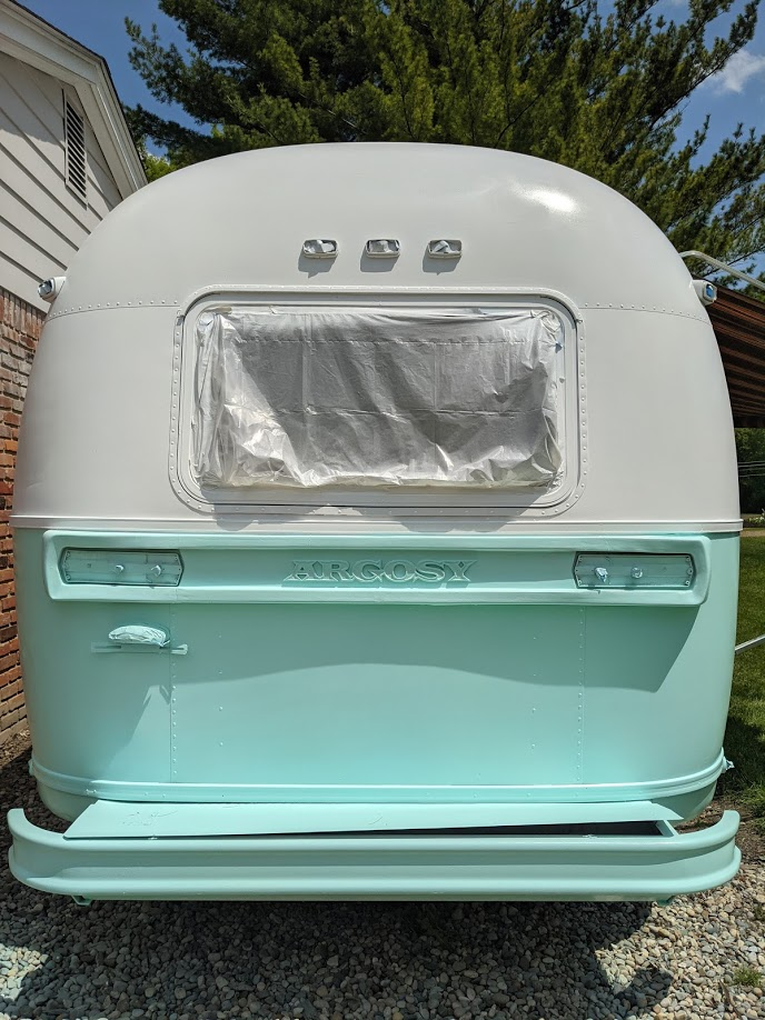 Our 1974 Airstream Argosy Travel Trailer Renovation Project All Things with Purpose Sarah Lemp 5