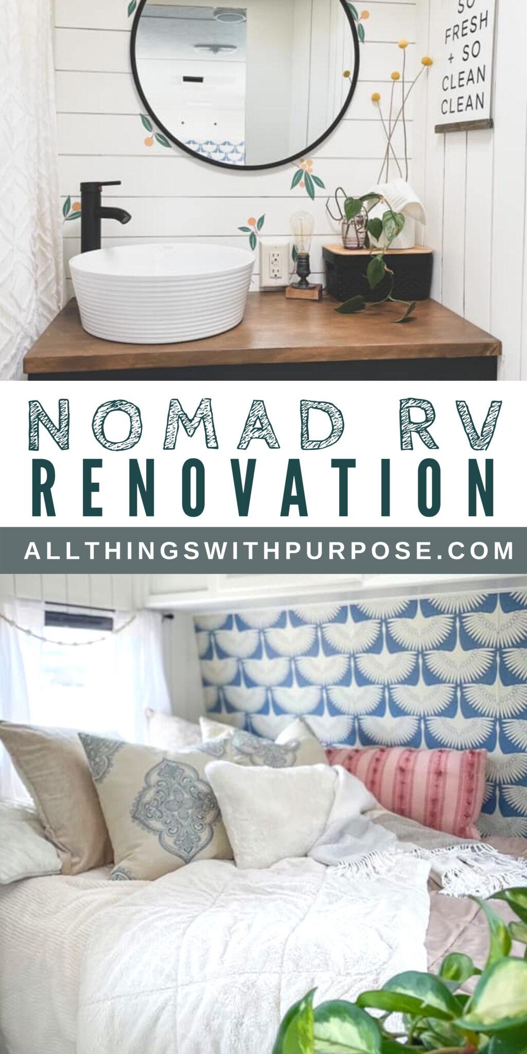 Beautiful Boho RV Renovation All Things with Purpose Sarah Lemp 10