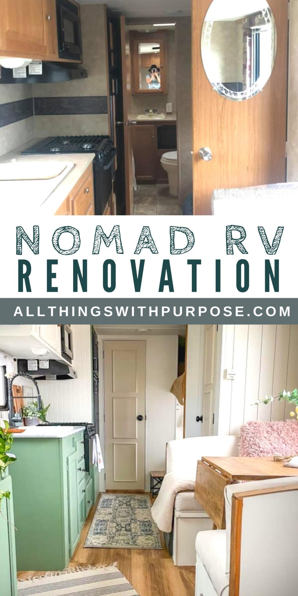 Beautiful Boho RV Renovation All Things with Purpose Sarah Lemp 11