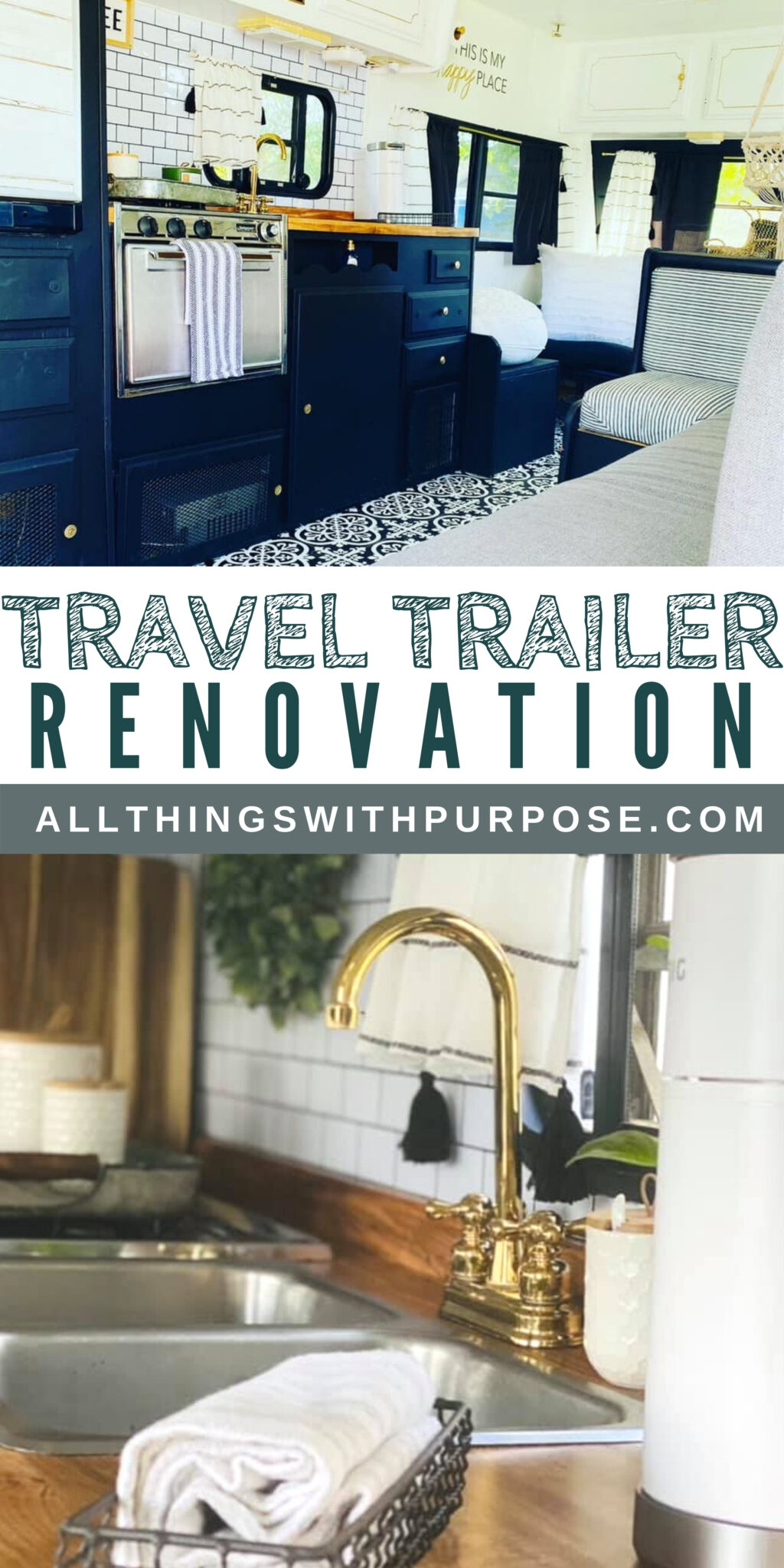 This 1984 Nomad RV Gets a Glamorous Upgrade All Things with Purpose Sarah Lemp 6