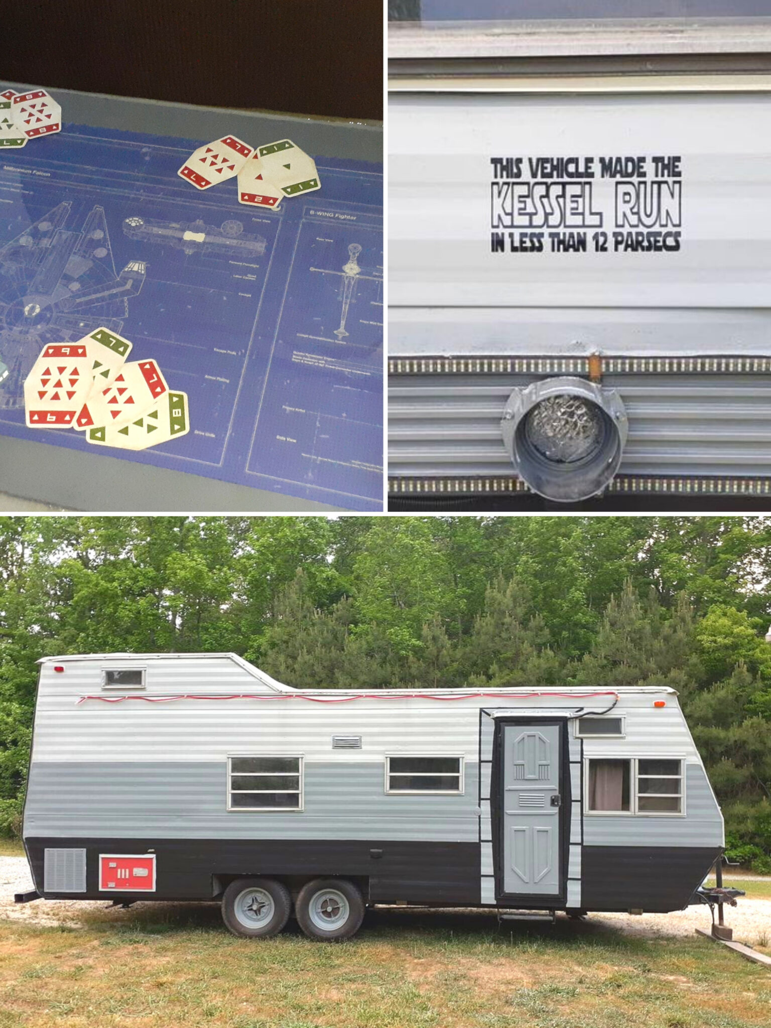 You Have to See This Amazing Star Wars Themed RV Reno All Things with Purpose Sarah Lemp 10