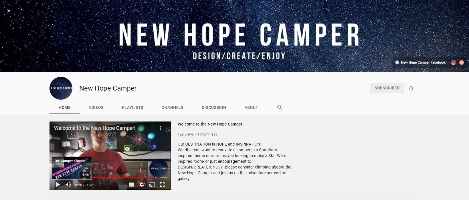 You Have to See This Amazing Star Wars Themed RV Reno All Things with Purpose Sarah Lemp 11