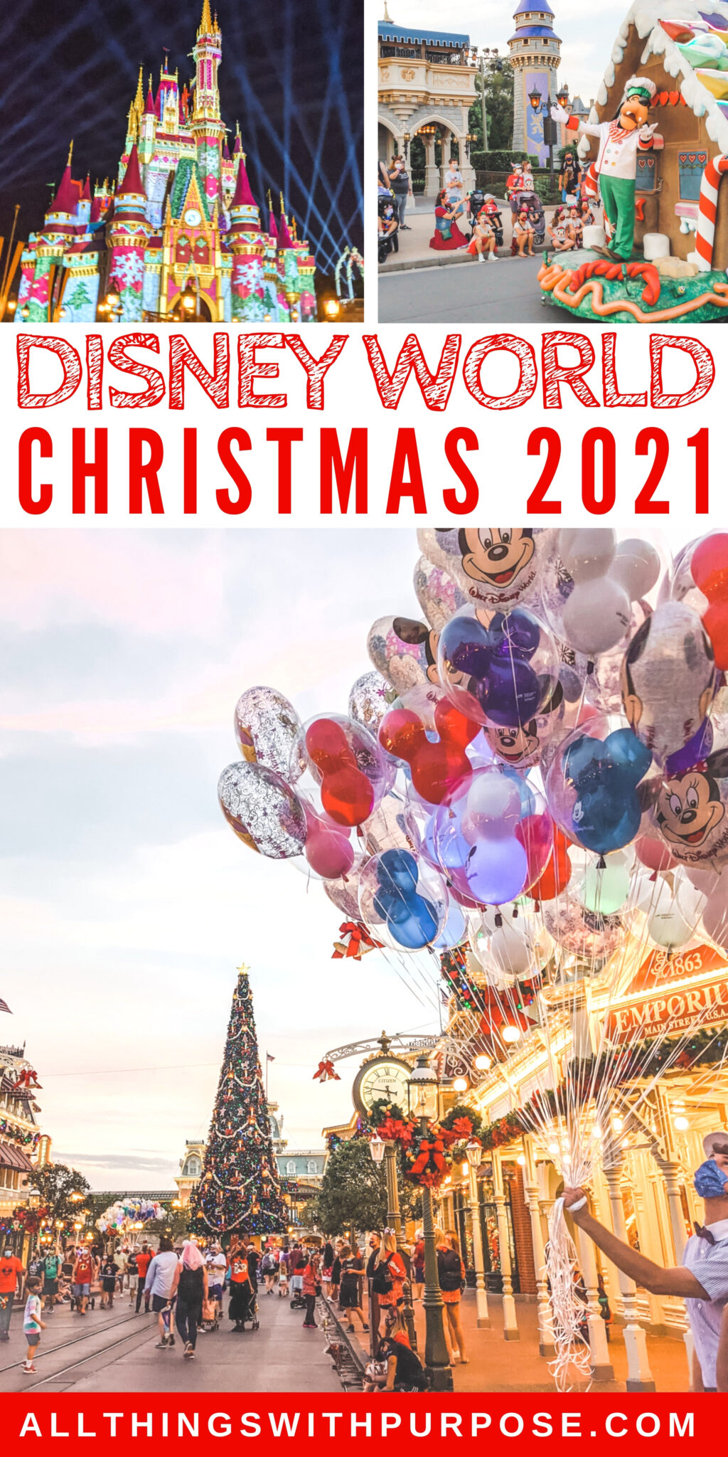 Disney World Holiday Celebration Details for 2021 All Things with Purpose Sarah Lemp