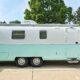 Airstream Argosy Travel Trailer Renovation Exterior Paint Update All Things with Purpose Sarah Lemp 3