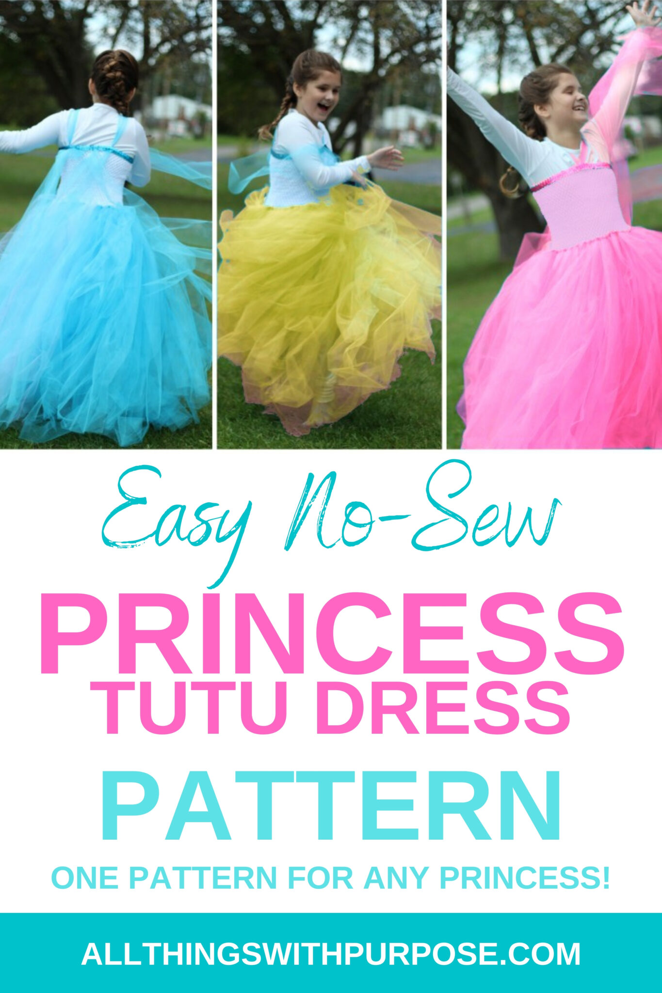 DIY Tulle Dress to Create the Look of Any Princess All Things with Purpose Sarah Lemp 2