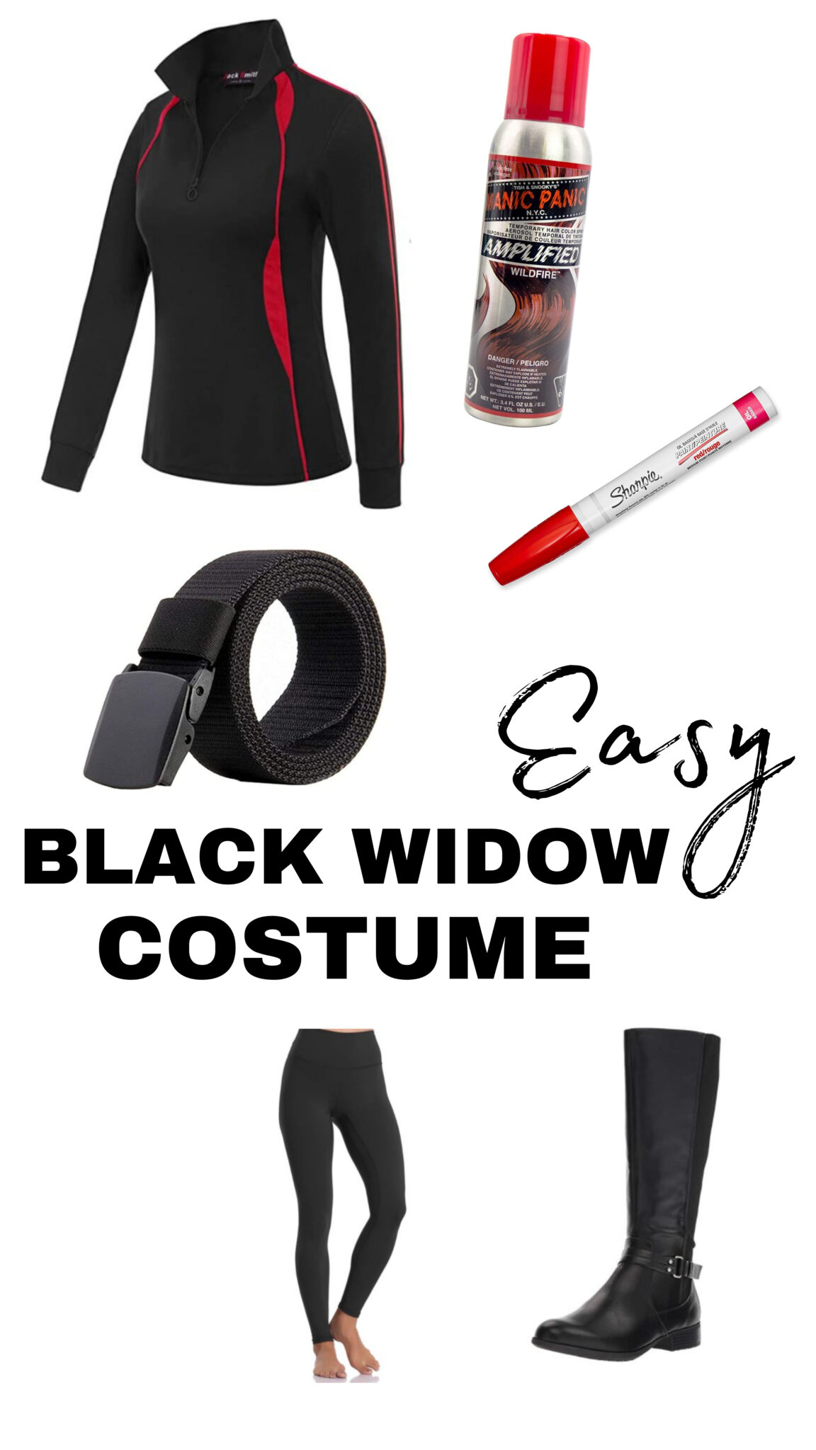 East DIY Marvel Themed Costumes for Halloween Using Regular Clothes All Things with Purpose Sarah Lemp 8