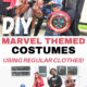 East DIY Marvel Themed Costumes for Halloween Using Regular Clothes All Things with Purpose Sarah Lemp 10