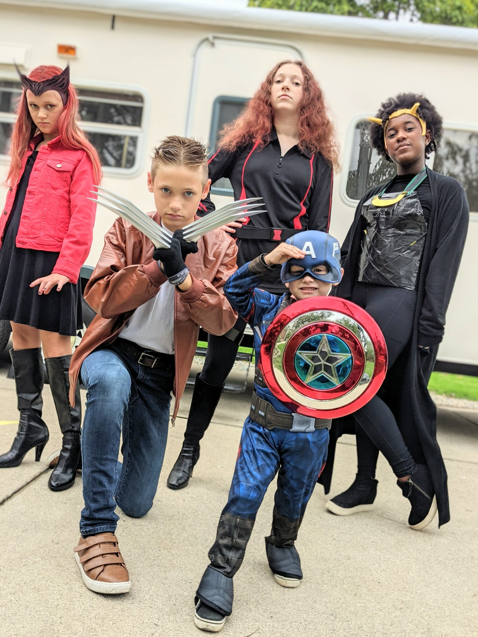 East DIY Marvel Themed Costumes for Halloween Using Regular Clothes All Things with Purpose Sarah Lemp 4
